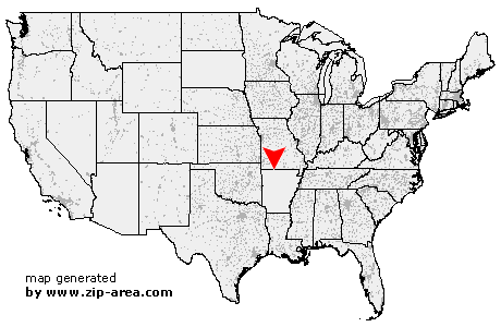 Location of Lead Hill