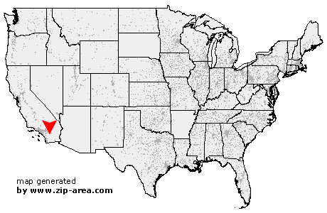 Location of Anza