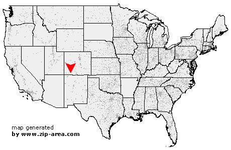 ZIP Code Chimney Rock  Colorado