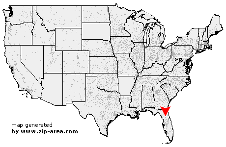 Location of Anthony