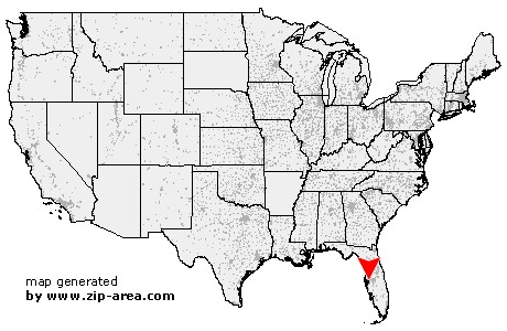 Location of Tampa