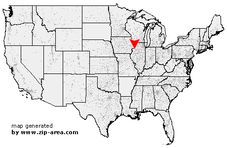 Location of Andover
