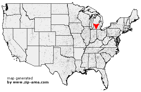 Location of Ashley