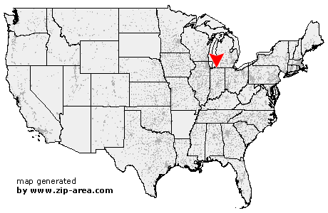 Area code for south bend in