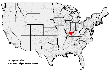 Location of Allensville