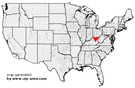 Location of Gays Creek