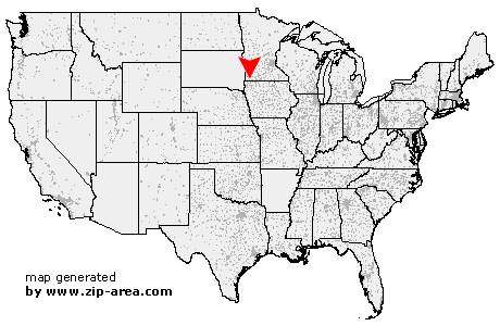 Location of Adrian