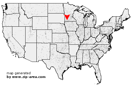 Location of Heron Lake