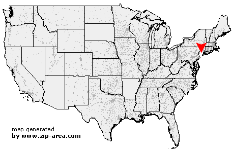Location of Mountain Lakes