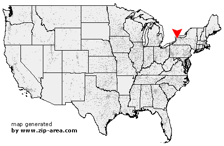 Location of Clarence Center