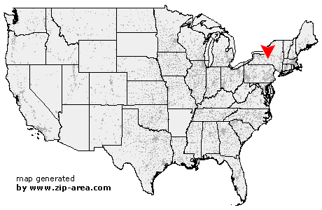 Location of Cortland