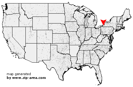 Location of Lily Dale