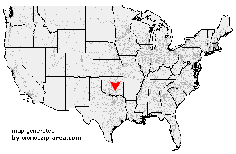 Location of Clarita