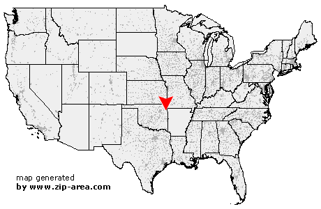 Location of Oaks