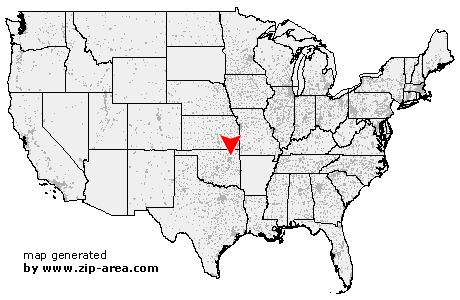 Location of Oologah