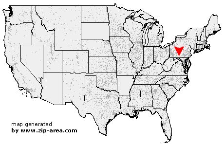 Location of Big Cove Tannery