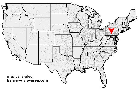 Location of Fort Littleton
