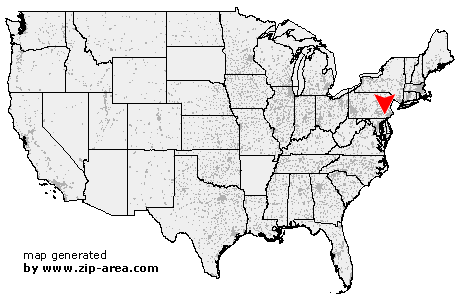Location of Pomeroy