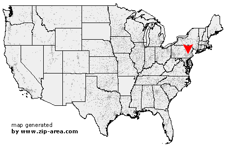 Location of Robesonia