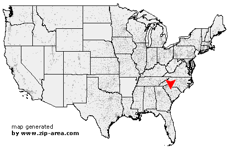 Location of Monticello