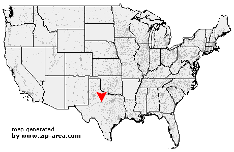 Location of Abilene