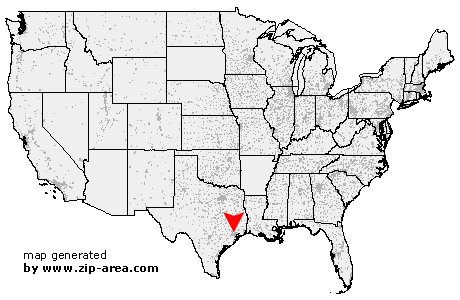 Location of Houston