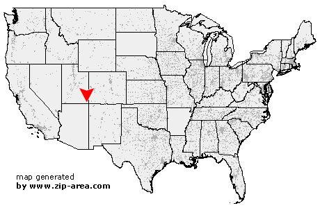 Location of Aneth