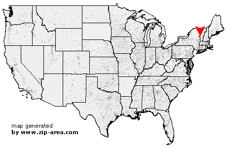 Location of East Poultney
