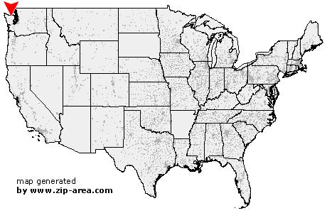 Port Angeles Zip Code Map.Zip Code Port Angeles Washington