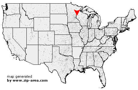 Location of Amery