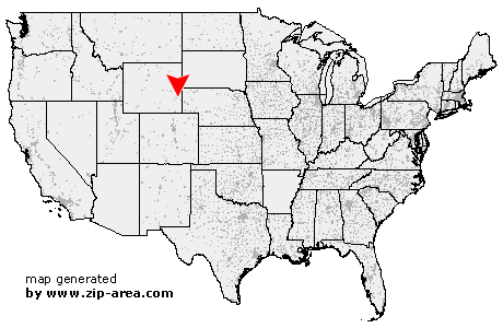 Location of Fort Laramie