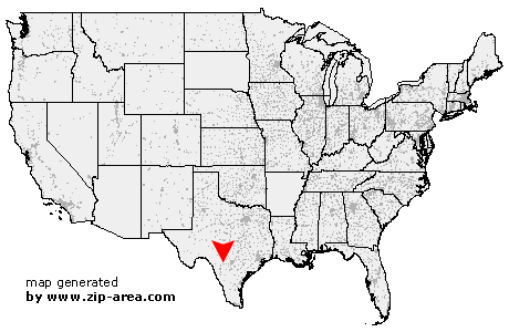 Location of Sabinal